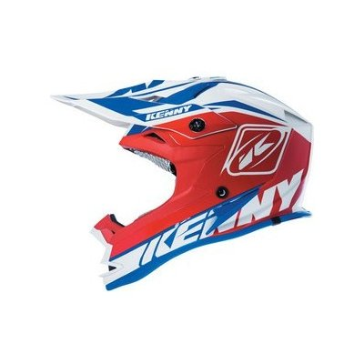 KENNY přilba PERFORMANCE 15 blue/wht/red