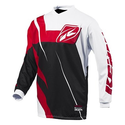 KENNY dres TRACK 15 Clasic black/red/wht