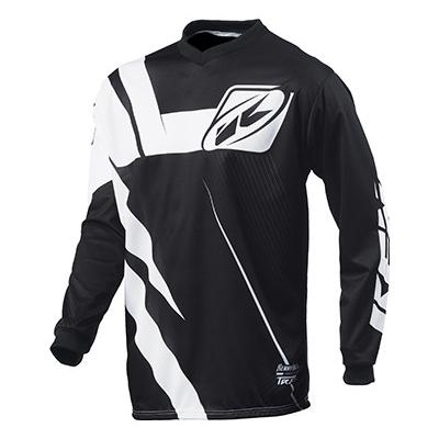 KENNY dres TRACK 15 Clasic black/white