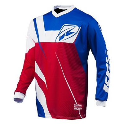 KENNY dres TRACK 15 Clasic blue / wht / red