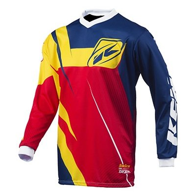 KENNY dres TRACK 15 LE navy / yellow / red