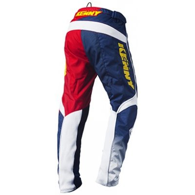 KENNY kalhoty TRACK 15 LE navy/yellow/red