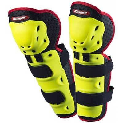 KENNY chránič kolen KNEE SHIN GUARDS 14 neon yellow