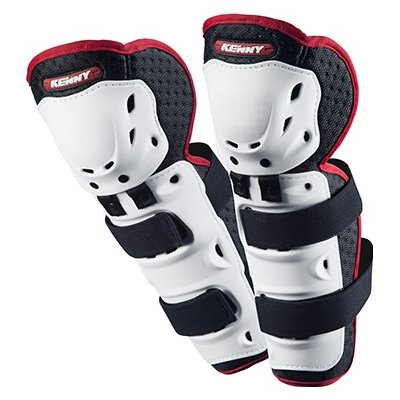 KENNY chránič kolen KNEE SHIN GUARDS 15 white