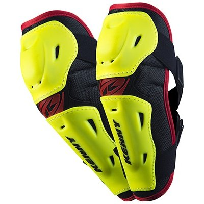 KENNY chránič loktů ELBOW GUARDS 14 neon yellow