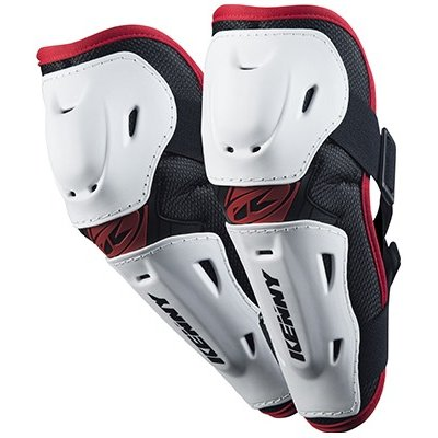 KENNY chránič loktů ELBOW GUARDS 15 white