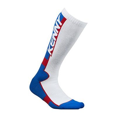 KENNY ponožky MX TECH 15 blue / wht / red