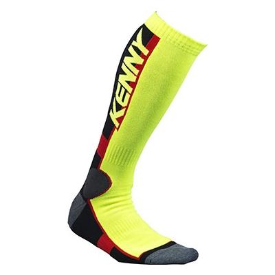 KENNY ponožky MX TECH 15 neon yellow