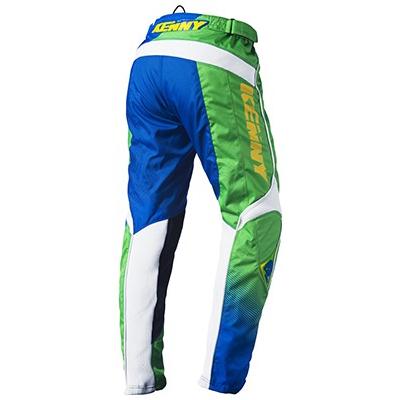 KENNY kalhoty TRACK 15 dětské Classic green/blue/yellow