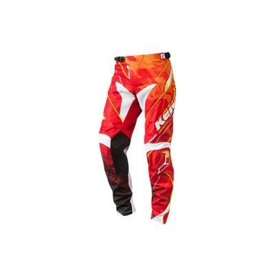KENNY kalhoty PERFORMANCE 14 dětské step orange/red