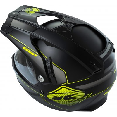 KENNY přilba XTR 16 neon yellow/matt black