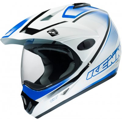 KENNY přilba EXTREME 16 graphic white/blue