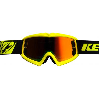KENNY okuliare PERFORMANCE 16 detské neon yellow