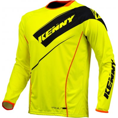 KENNY dres TITANIUM 16 neon yellow