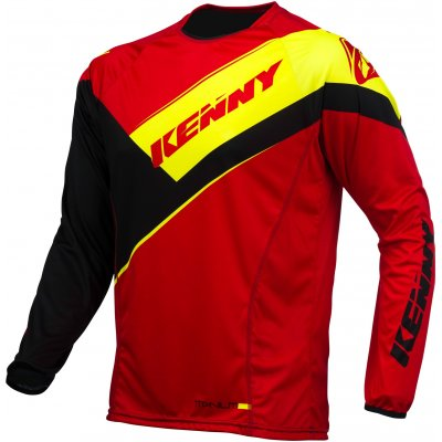 KENNY dres TITANIUM 16 red/black/neon yellow