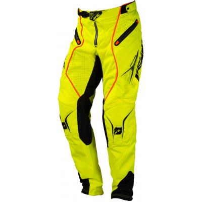 KENNY nohavice TITANIUM 16 neon yellow