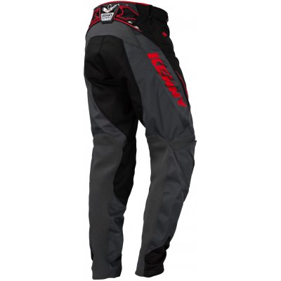 KENNY kalhoty TITANIUM 16 black/grey/red