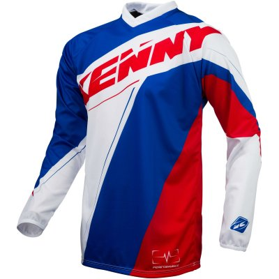 KENNY dres PERFORMANCE 16 blue/white/red
