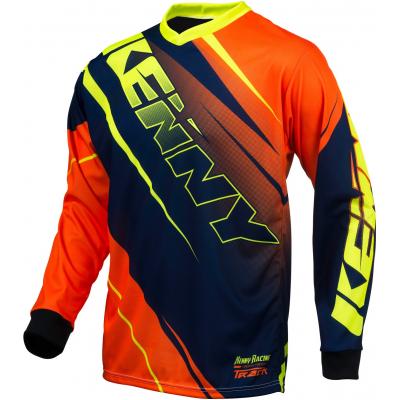 KENNY dres TRACK 16 blue/neon orange