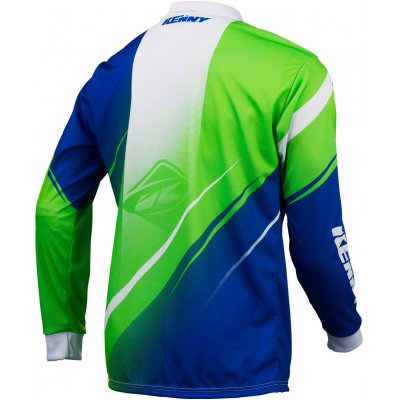 KENNY dres TRACK 16 neon green/blue