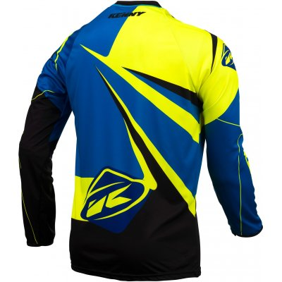 KENNY dres TRIAL UP 16 blue/neon yellow