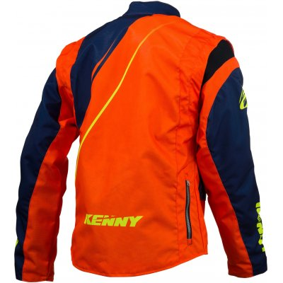 KENNY bunda TRACK 16 blue/neon orange