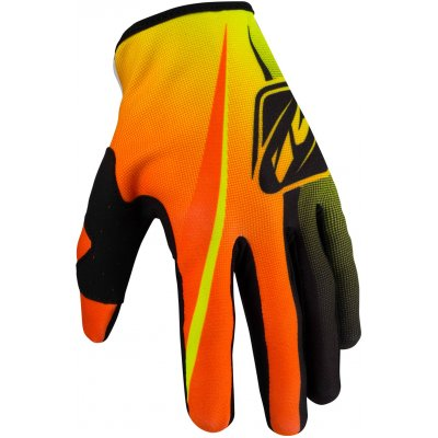 KENNY rukavice STRIKE 16 neon yellow/neon orange
