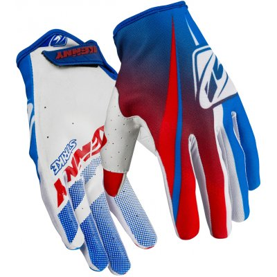KENNY rukavice STRIKE 16 blue/red