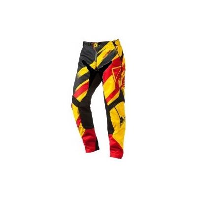 KENNY kalhoty TRACK 14 dětské yellow/red