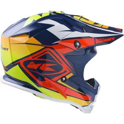 KENNY prilba PERFORMANCE 17 navy / orange / lime