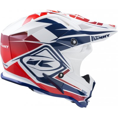 KENNY prilba PERFORMANCE 17 navy / white / red