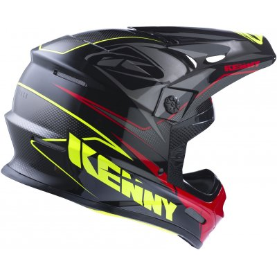 KENNY přilba TRACK 17 black/grey/red