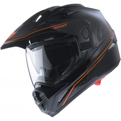 KENNY přilba EXTREME 17 black/neon orange