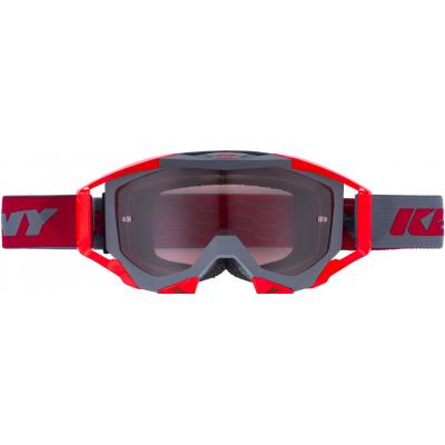 KENNY okuliare TITANIUM 17 matt grey / red