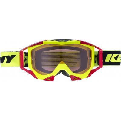 KENNY brýle TITANIUM 17 neon yellow/red