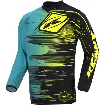 KENNY dres PERFORMANCE 17 aqua / yellow