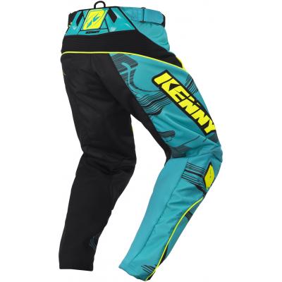 KENNY kalhoty PERFORMANCE 17 aqua/yellow