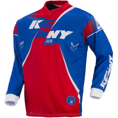 KENNY dres TRACK 17 blue / red