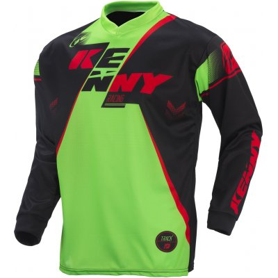 KENNY dres TRACK 17 black/green/red