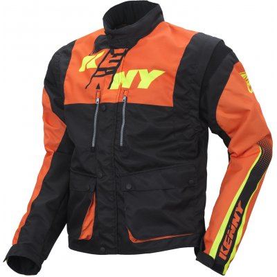 KENNY bunda TRACK 17 black/neon orange