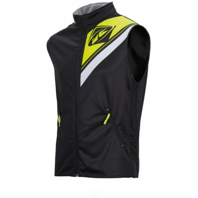 KENNY vesta ENDURO 17 black / neon yellow