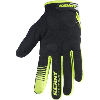 KENNY rukavice TITANIUM 17 neon yellow/black