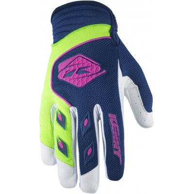 KENNY rukavice TRACK 17 detské navy / lime