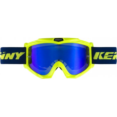 KENNY brýle TRACK+ 17 blue/neon yellow
