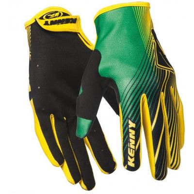 KENNY rukavice STRIKE 14 green / yellow