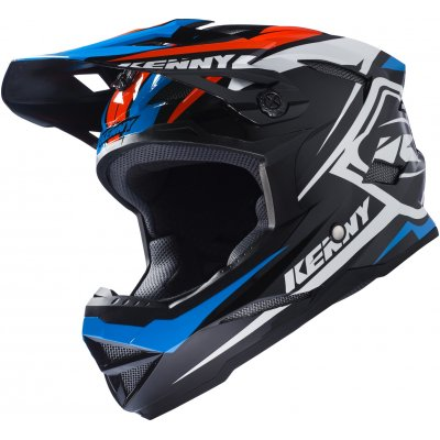 KENNY cyklo přilba SCRUB 17 black/blue/orange