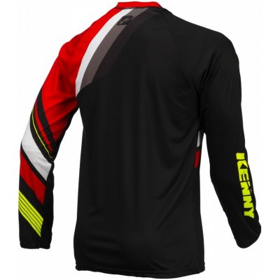 KENNY cyklo dres TRAIL 16 black/red