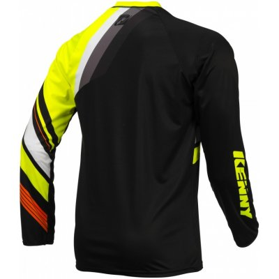 KENNY cyklo dres TRAIL 16 black/fluo yellow