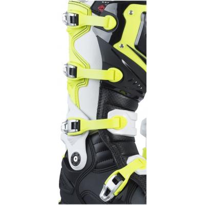 KENNY pásky na boty TITANIUM 17 neon yellow