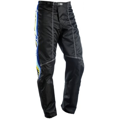 KENNY kalhoty VINTAGE 12 black/blue/yellow